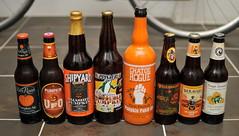 Pumpkin Beers (HorsePunchKid) Tags: beer pumpkin