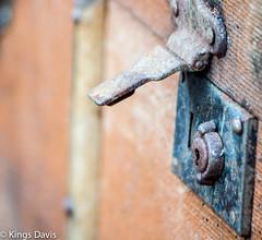 'Locks' (Flip the Script) Tags: wood light macro london texture field photography rust dof outdoor lock rustic professional trunk locks depth