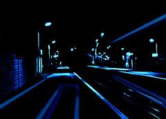Platform Blues (ronramstew) Tags: blue station night platform rail railway 1001nights littlesutton mygearandme mygearandmepremium mygearandmebronze