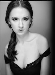 Natalia (Maciek Lesniak) Tags: portrait 120 female silver mediumformat 645 shanghai feminine sensual reflector caffenol gp3 beautydish mamiya6451000s strobist clamshelllighting caffenolcm mamiyasekkorc8019