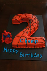 Spiderman Cake (Bake A Wish) Tags: cake character spiderman september 2013