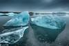 Jökulsárlón (Kristinn R.) Tags: sky ice clouds iceland nikon lagoon jökulsárlón d3x nikonphotography breiðamerkursandur kristinnr