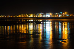 Matagorda at night (stumpyheaton) Tags: november sea seascape black beach water night del reflections puerto islands sand nikon lanzarote atlantic canary carmen matagorda d5100