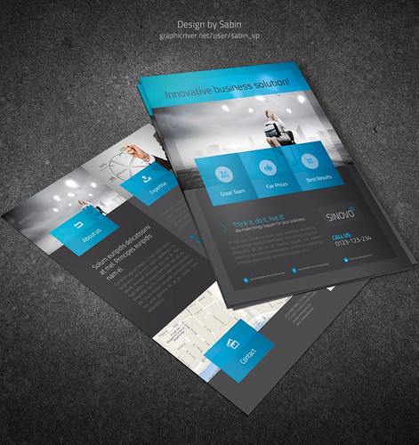 Business Flyer Template vol3