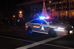 Lights and stripes -- Royal Canadian Mounted Police (JarvisEye) Tags: auto light canada ford car automobile stripe police newbrunswick reflective moncton rcmp taurus patrol reflector royalcanadianmountedpolice 2013