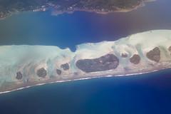 Bora Bora Aerial I (adiaphane) Tags: travel blue islands southpacific tahiti borabora aerials frenchpolynesia polynesiefranaise