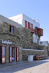 Babylon (oxfordblues84) Tags: red man painting balcony hunk greece painter babylon gaybar cyclades mykonos greekgod ncl shoreexcursion norwegianspirit norwegiancruiseline norwegianspiritcruise redbalcony babylonmykonos norwegianspiritshoreexcursion mykonosonfoot