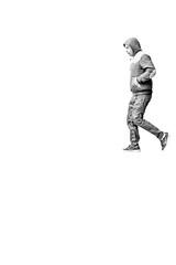 The hooligan. (Ian McWilliams.) Tags: street people blackandwhite bw man newcastle streetphotography trouble angry hood toon nasty newcastleupontyne geordies hooligan reputation footballhooligan macaz1977 ianmcwilliams peopleography canon550d