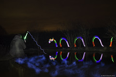 fishing nessy (AGB Photography) Tags: longexposure lightpainting night lp nikond7000 agbphotography2014
