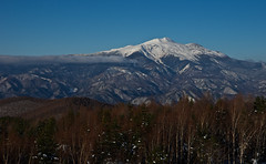 An evening time coming soon (Yoshia-Y) Tags: mountain snow mtnorikura mtkisoontake