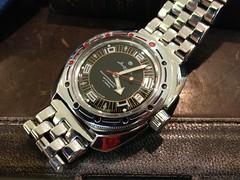 Vostok Amphibia (istargazer) Tags: mechanical watch dive automatic bracelet diver wristwatch russian vostok amphibia watchadoo updatingall