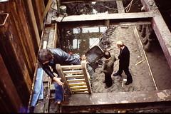 AMSTERDAM 1976 (streamer020nl) Tags: bridge holland amsterdam foundation prinsengracht nl brug renovation 1976 amstel 76 renovatie fundering boogbrug oetgensbrug