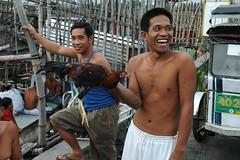 Philippines (Stone.Rome) Tags: life street portrait people male chicken smile fun fight philippines human filipino slum