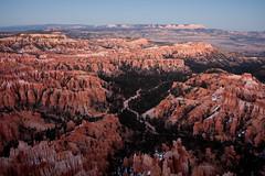 Bryce Dusk (China Chas) Tags: red usa utah rocks dusk roadtrip brycecanyon 1022mm pinnacles 2013