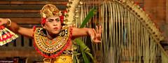 Ubud, Bali -Dance Performance (WhyCallSarah) Tags: travel vacation indonesia dance warrior ubud baris