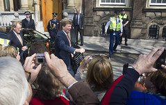 "Koning Willem Alexander in Den Haag • <a style=""font-size:0.8em;"" href=""http://www.flickr.com/photos/45090765@N05/13494765553/"" target=""_blank"">View on Flickr</a>"