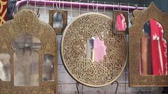Mirrors- Khan el Khalili (EszterFaatima) Tags: egypt mirrors bazaar oldcairo khanelkhalili brassmirrors