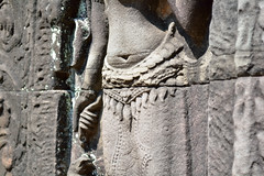 apsara belly (henryub) Tags: statue rock stone belly angkor wat apsara