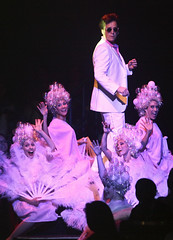 Robert J. Townsend as Teen Angel in the Music Circus production of Grease June 26 through July 1, 2012. Photo by Charr Crail.