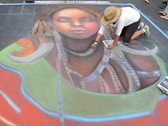 DSCN0649 (marathonwil) Tags: streetart art festivals sanrafael chalkart madonnari italianstreetpainting carnevaledivenezia amberlong italianstreetpaintingmarin everylifefoundationforrarediseases