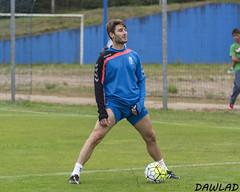Jon Erice estirando (Dawlad Ast) Tags: espaa training real jon soccer asturias el julio 18 oviedo futbol erice pretemporada entrenamiento 2015 requexon