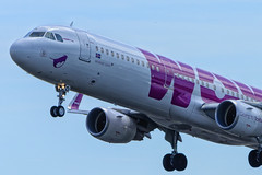WOW Air Airbus A321, AMS (Silent.91) Tags: netherlands amsterdam plane wow airplane nikon exterior aircraft aviation air off airbus take takeoff schiphol ams spotting avia  eham a321  polderbaan  d5200 tfdad