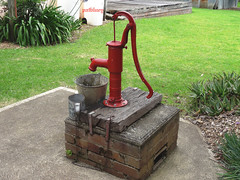 An old water pump seen at Fagon Park Sydney (pat.bluey) Tags: old water australia pump newsouthwales 1001nights flickraward 1001nightsmagiccity fagonpark