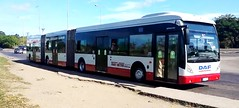 TRANSMETRO Ruta P-16 (ROGALI) Tags: bus cuba habana omnibus guagua daf biarticulado transmetro vanhoolagg300 guaguasdecuba netherlandbus