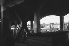 through the noise (Satirenoir) Tags: city summer train traintracks amtrak movingpictures