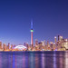 Toronto Skyline in Bluehour