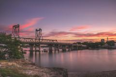 Riverside Sunset (satochappy) Tags: sunset riverside twilight sky le nd rydebridge sydney parramattariver
