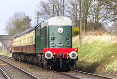 Class_20_D8098_IMG_1699 (Roger J Brown) Tags: gcr great central railways spring diesel gala 18th 19th march 2017 heritage preserved line roger brown sigma 18250 50500 locomotive canon 7d class 37 33 31 20 25 bigma