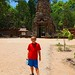 My son in Angkor Wat, Siem Reap, Cambodia