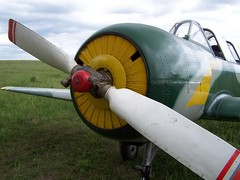 """Yak-52 3 • <a style=""""font-size:0.8em;"""" href=""""http://www.flickr.com/photos/81723459@N04/32740103630/"""" target=""""_blank"""">View on Flickr</a>"""