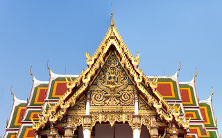 Wat Ratchaburana Ratchaworawihan (Wat Liap) temple view