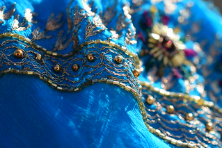 Cloth/textile macro monday