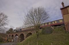 14xx no.1450 and Pannier no.7714 (alts1985) Tags: 14xx no1450 pannier no7714 bewdley severn valley railway spring steam gala svr train worcestershire shropshire 170317 180317
