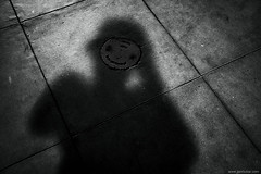 me me me (jrockar) Tags: self myself portrait shadow happy face smiley selfie smile concrete me