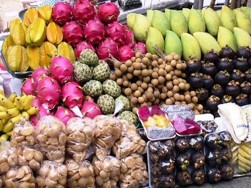 Comida-tailandesa.-Frutas