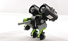 Rapid Recon Sniper Pod (Deltassius) Tags: mobile frame zero mech mecha robot hardsuit battle pod lego space war military scifi microscale