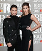 Jonas Blue and Dakota attend The BRIT Awards 2017 at The O2 Arena on February 22, 2017 in London, England. (Photo by John Phillips/Getty Images)