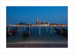 Last traffic of the day (andyrousephotography) Tags: venice piazzasanmarco sangiorgiomaggiore gondolas boats ferries lights coloured lighttrails evening bluehour waves bobbing longexposure le andyrouse canon eos 5d mkiii