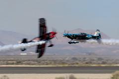 Pitts S2C vs Edge 540 (Trent Bell) Tags: lancaster foxairfield airport losangelescounty airshow 2016 california skipstewart pitts s2c prometheus edge540 melissaandrzejewski n540sg zivko melissapemberton aircraft