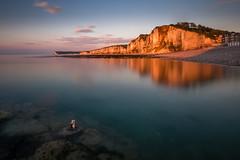 l'anneau d'Yport nouveau cadrage (amateur72) Tags: fujifilm xf1024mm yport cliffs coucherdesoleil falaises longexposure mer poselongue sunset xt1