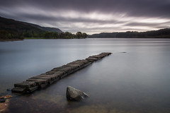 Forgotten in Time (Marc Böhning) Tags: stone jetty shore loch ard scotland landscape lakescape clouds forgotten times canon lee filters long exposure afternoon spot