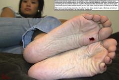 Gruesome Game (Red Neptune) Tags: giantess gts shrunkenman sm feet crush stomp asian soles