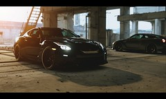 Nissan GT-R (Thomas_982) Tags: gt5 cars auto nissan gtr outdoor gt6 black gran turismo sport ps4 city