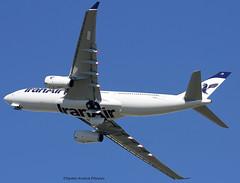 Iran Air. Second Airbus A330 For The Company. (Jacques PANAS) Tags: iran air airbus a330243 epijb fwhur msn1586