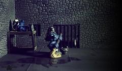 Revealed:Shocking smurf prison conditions! (torq42) Tags: smurf schlumpf prison shocking conditions scandal