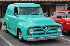 Million Dollar Breakfast Cruise 3-26-17 (USautos98) Tags: 1955 ford paneltruck panelvan hotrod streetrod custom